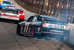 Sam Hornish Jr., Penske Racing Dodge hits the wall