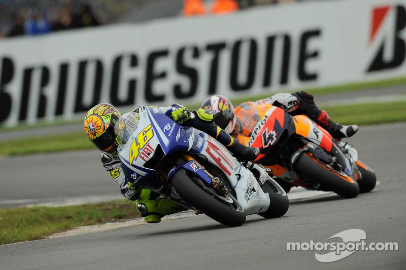 Valentino Rossi devance Andrea Dovizioso