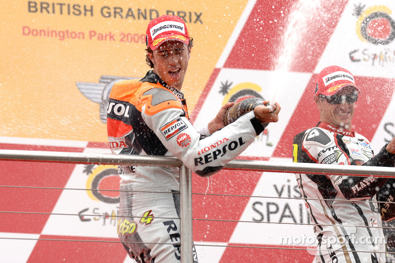 Premier succès en MotoGP en Angleterre