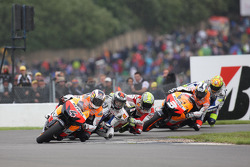 Andrea Dovizioso, Repsol Honda Team leads the field
