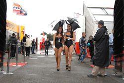 Chicas LCR Honda MotoGP Team