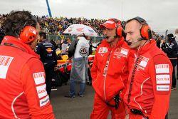 Ducati Marlboro team members