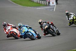 Mika Kallio, Pramac Racing, Loris Capirossi, Rizla Suzuki MotoGP, Marco Melandri, Hayate Racing Team