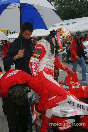 Jules Bianchi se prepara