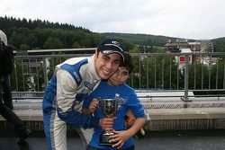 Gabriel Dias and his little brother