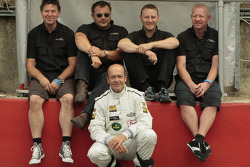 Joaquin Folch and Pit Crew