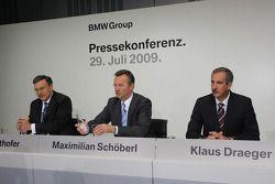 Dr. Norbert Reithofer (Yönetim Kurulu Başkanı, BMW AG), Maximilian Sch����berl, Dr. Klaus Draeger (h
