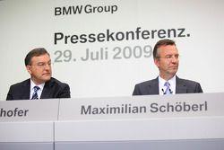 Dr. Norbert Reithofer (Yönetim Kurulu Başkanı, BMW AG), Maximilian Sch����berl