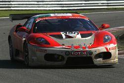 #120 Michael Cullen Rosso Corsa Ferrari F430 GT3: Michael Cullen, Patrick Shovlin, Mark Patterson, P