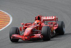 Michael Schumacher, Scuderia Ferrari, test de F2007