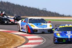 La Ferrari F430 GT N°90 : Pierre Ehret, Dominik Farnbacher, Anthony Beltoise