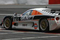 Close-up on #118 Gravity Racing International Mosler MT 900: Vincent Radermeker, Ho-Pin Tung, Loris de Sordi, Jacques Villeneuve
