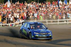 Mads Ostberg et Unnerud Ole Kristensen, Subaru Impreza WRC 08