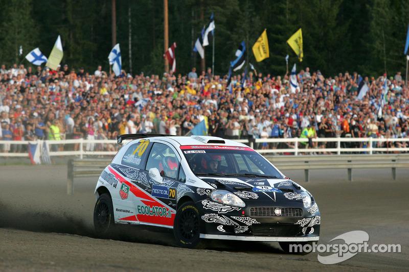 Кими Райкконен и Кай Линдстрём, Fiat Grande Punto S2000