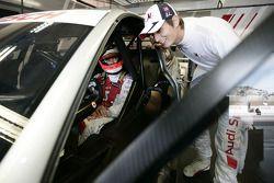 Александр Према, Audi Sport Team Phoenix Audi A4 DTM, и Оливер Джарвис, Audi Sport Team Phoenix Audi