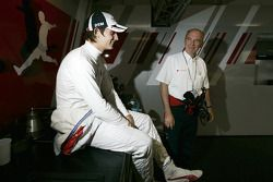 Oliver Jarvis, Audi Sport Team Phoenix Audi A4 DTM and Audi Head of Motorsport Dr. Wolfgang Ullrich