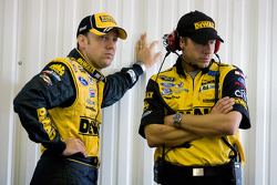Matt Kenseth, Roush Fenway Racing Ford and crew chief, Drew Blickensderfer