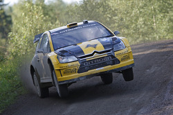 Evgeny Novikov and Dmitry Chumak, Citroen Junior Team Citroen C4 WRC
