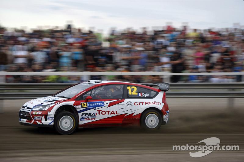 Себастьен Ожье и Жюльен Инграссиа, Citroen Junior Team Citroen C4 WRC