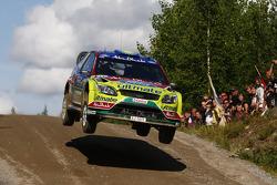 Яри-Матти Латвала и Микка Анттила, BP Ford Abu Dhabi World Rally Team Ford Focus RS WRC08
