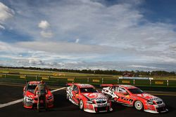 Garth Tander take the win with Will Davison second for Toll Holden Racing Team