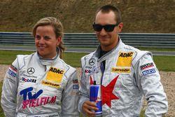 Susie Stoddart, Persson Motorsport, AMG Mercedes C-Klasse and Mathias Lauda, Mücke Motorsport, AMG Mercedes C-Klasse