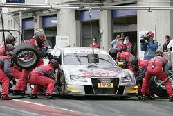Arrêt pour Martin Tomczyk, Audi Sport Team Abt Audi A4 DTM