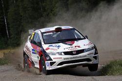 Urmo Aava and Kuldar Sikk, Honda Civic