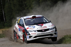 Urmo Aava and Kuldar Sikk, Honda Civic
