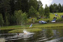 Mads Ostberg and Unnerud Ole Kristensen, Subaru Impreza WRC 08