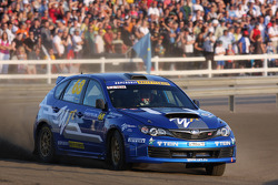 Patrick Flodin et Goran Bergsten, Subaru Impreza