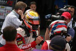 Ganador de la carrera Jules Bianchi, ART Grand Prix Dallara F308 Mercedes