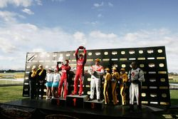 Will Davison, Toll Holden Racing Team, Garth Tander, Toll Holden Racing Team, Jamie Whincup, Team Vodafone