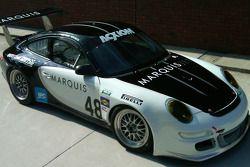 The new #48 Miller Barrett Racing Porsche GT3