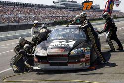 Arrêt aux stands pour Ryan Newman, Stewart-Haas Racing Chevrolet