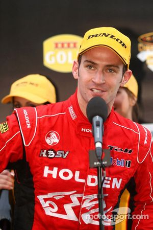 Will Davison takes his first win with Toll Holden Racing Team
