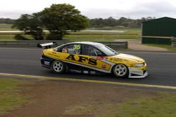 Tony Bates on the brakes