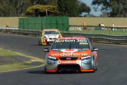 Craig Lowndes on the back straight