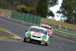 Fabian Coulthard on the back straight