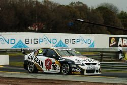 James Courtney on his was to 2nd spot
