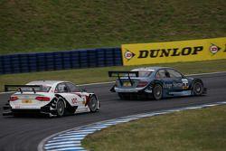 Jamie Green, Persson Motorsport AMG Mercedes C-Klasse, Tom Kristensen, Audi Sport Team Abt Audi A4 D