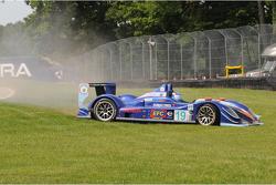 #19 van der Steur Racing Radical SR9 AER: Gunnar van der Steur, Adam Pecorari spins