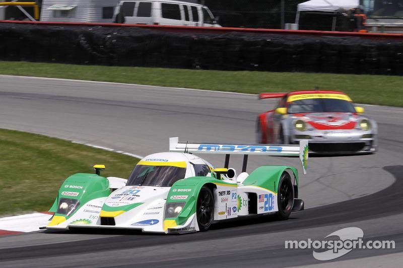Butch Leitzinger, Marino Franchitti (Lola B09 86 Mazda N°20)