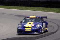 La Porsche 911 GT3 Cup N°47: John Baker, Guy Cosmo