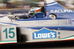 #15 Lowe's Fernandez Racing Acura ARX-01B Acura: Adrian Fernandez, Luis Diaz