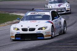 #90 BMW Rahal Letterman Racing Team BMW E92 M3: Bill Auberlen, Joey Hand