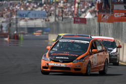#74 Compass360 Racing Honda Civic SI: Christian Miller, Benoit Theetge