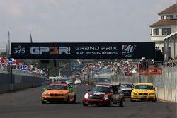 #197 RSR Motorsports Mini Cooper S: Randy Smalley, Owen Trinkler, #86 3D Racing BMW 330: Brandon Bogart, David Maynard