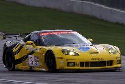 #3 Corvette Racing Chevrolet Corvette C6.R: Jan Magnussen, Johnny O'Connell