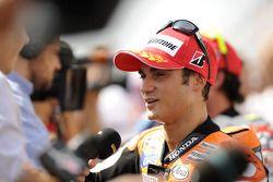 Second place Dani Pedrosa, Repsol Honda Team